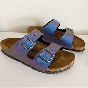 Birkenstock | Icy Violet Arizona Sandals